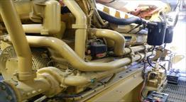 2012 Caterpillar C175-16 Generator Set