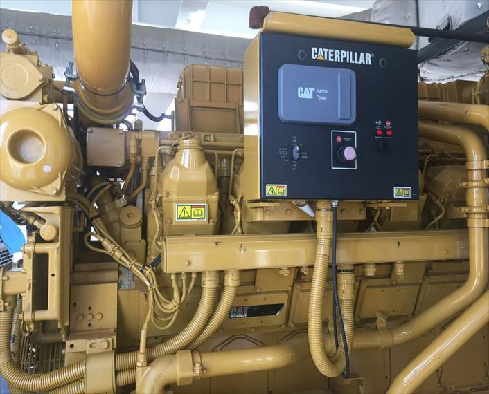 2013 Caterpillar 3516C HD Generator Set