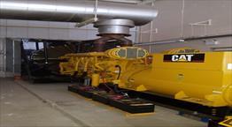2005 Caterpillar 3516B HV Generator Set