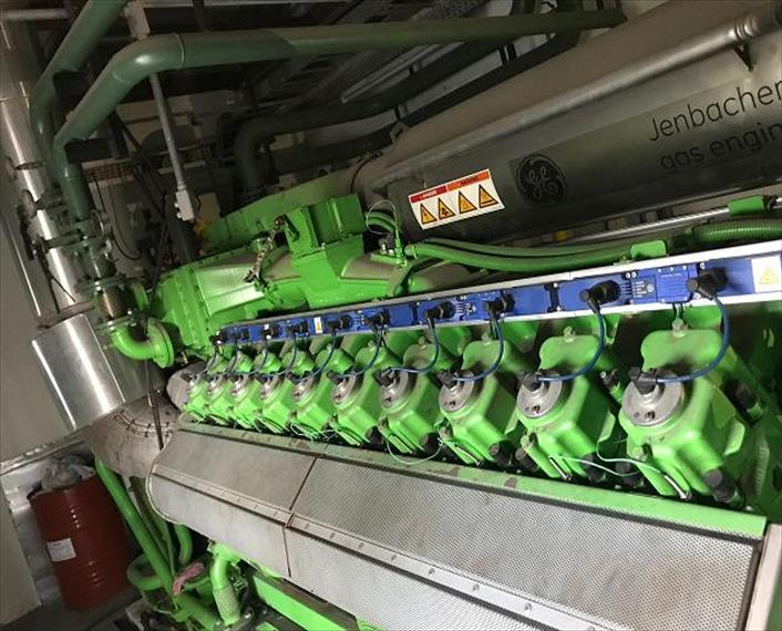 2012 Jenbacher JGS 420GS N1 Generator Set
