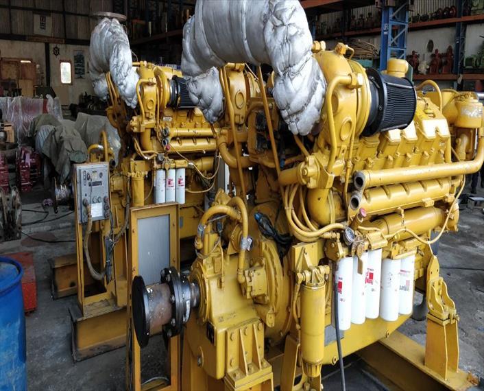2001 Caterpillar 3412E Engine