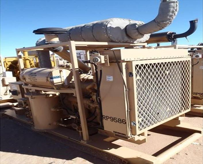 7x CAT G3406 NA GENERATOR SETS