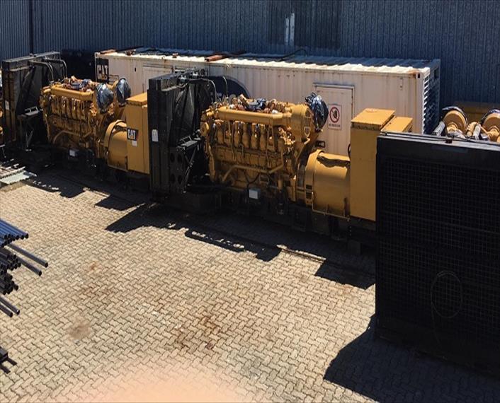 2012 Caterpillar 3516B Generator Set