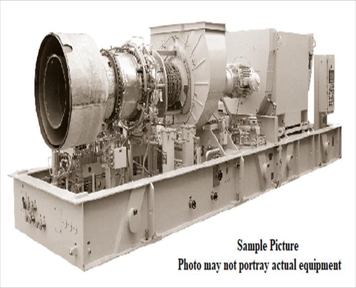 2017 Solar Taurus 70 Generator Set
