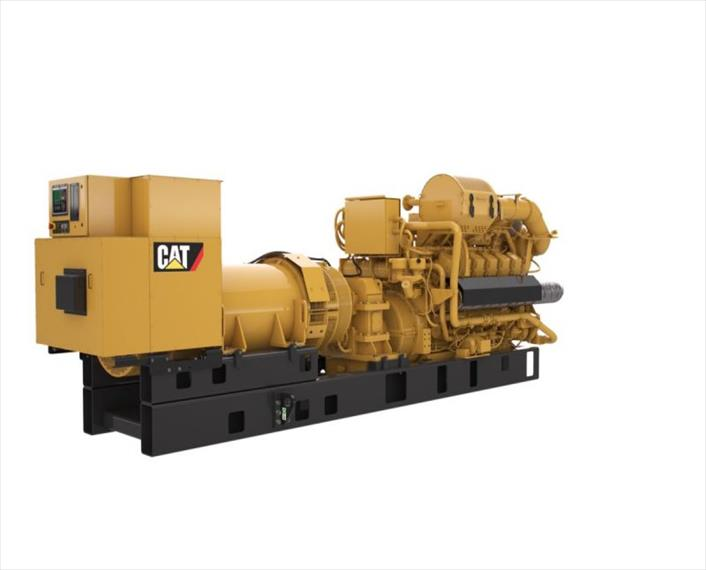 2018 Caterpillar G3512H Generator Set