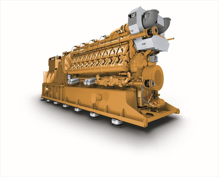 2018 Caterpillar CG170 20 Generator Set
