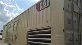 2014 CAT XQ1475G GAS GENERATOR SET