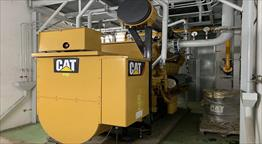 2011 Caterpillar G3512E Generator Set