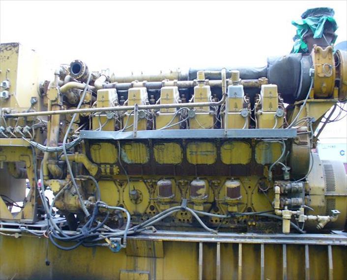 1988 Caterpillar 3612 Generator Set