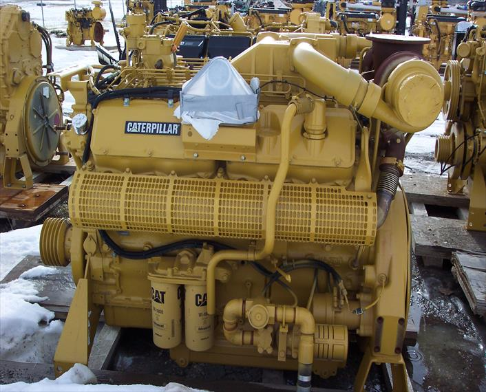 Caterpillar 3412C Engine