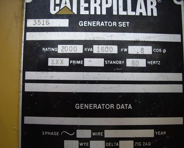 Caterpillar SR4 Generator End