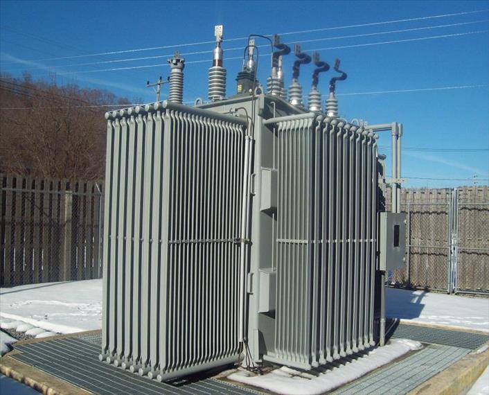 2007 ABB Substation Transformer Transformer