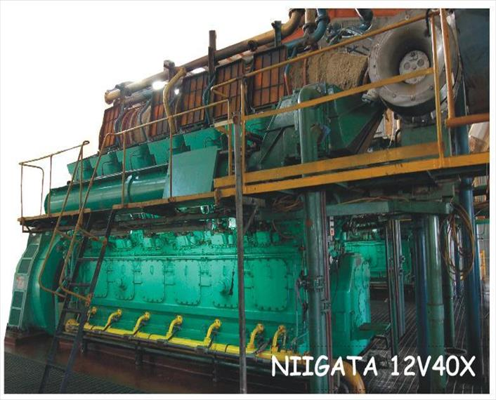 Niigata 12V40X Power Plant