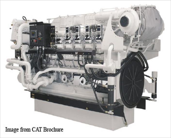 2008 Caterpillar 3516B Engine